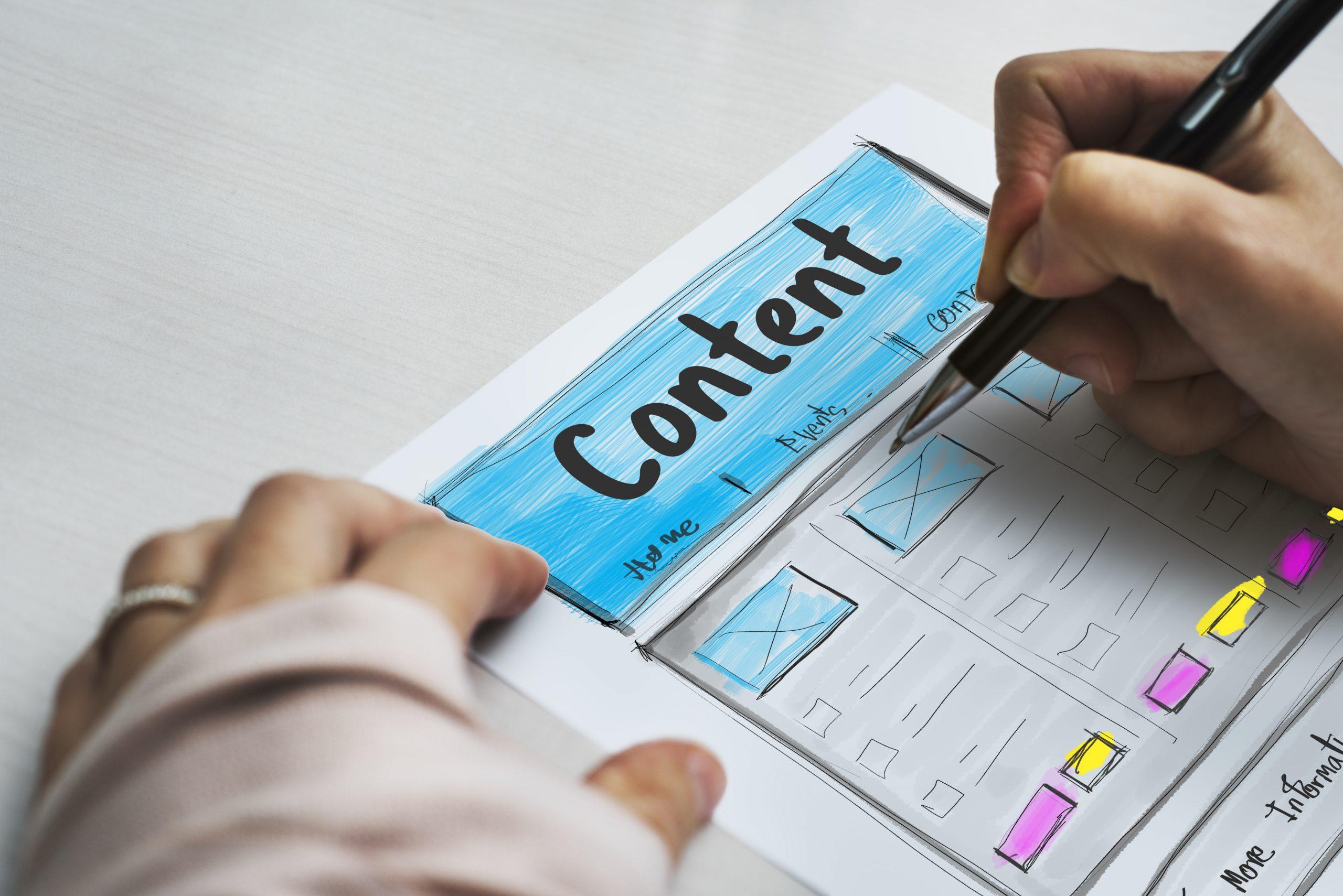 como adaptar contenido a las busquedas en internet